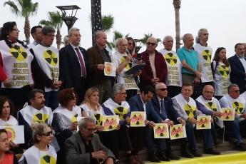 Çernobil Felaketinin 33. Yılı Mersin NKP Basın Açıklamasına Katılımımız.-03