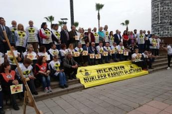 Çernobil Felaketinin 33. Yılı Mersin NKP Basın Açıklamasına Katılımımız.-04