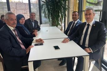 Mersin Mut Eski İlçe Yönetim Kurulu Üyesi Şehit Ali GÜMÜŞ'ün Ailesinin TBMM'de Bizi Ziyareti.
