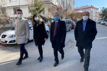 Aksaray'da Yöneticilerimizle birlikte  saha çalışmalarımız devam ediyor. Vatandaşlarımızın sorunlarını yerinde dinliyoruz...