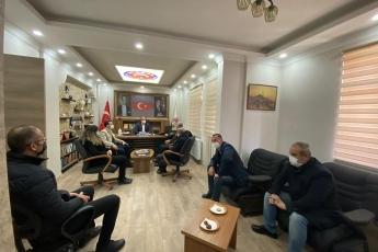 Aksaray Türk Metal İş Sendikasını ziyaret ettik...