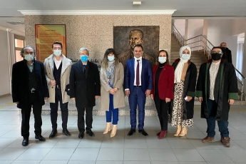 Aksaray Baro Başkanlığı'nı ziyaret ettik.