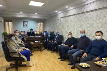 Aksaray Serbest Muhasebeci Mali Müşavirler Odası Başkanlığını ziyaret ettik.
