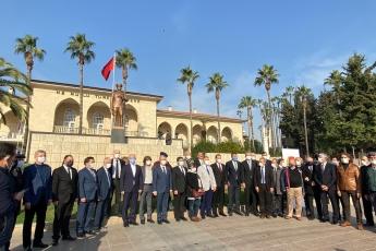 10 Ocak Çalışan Gazeteciler Günü İçin Emekçi Gazetecilerimizle Birlikte Cumhuriyet Meydanındayız.