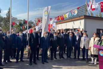 Mersin Mezitli Belediyemizin Kazandırmış Olduğu Mersin Gazeteciler Cemiyetine Adına Yapılmış Olan Basın Evinin Açılışına Katıldık.
