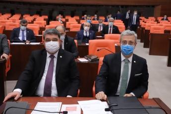 Mersin Milletvekilimiz Cengiz Gökçel ile birlikte..