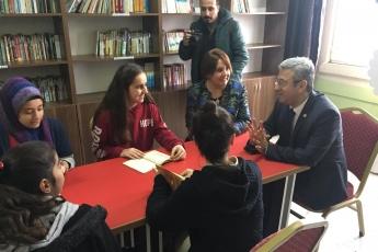 Toroslar Yusuf Bayık Ortaokulu Kütüphane Açılışına Katılımımız-07