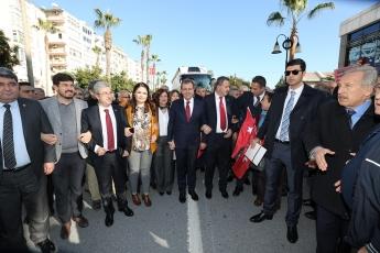CHP Mersin Büyükşehir Belediyesi Başkan Adayımız Vahap SEÇER'i Karşılama ve Mersinlilerle Buluşma-03