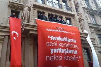 """İstanbul 24 Ocak """"ULUSLARARASI TEHLİKEDEKİ AVUKATLAR GÜNÜ"""" Etkinliğine Katılımımız.-01"""