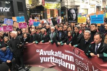 """İstanbul 24 Ocak """"ULUSLARARASI TEHLİKEDEKİ AVUKATLAR GÜNÜ"""" Etkinliğine Katılımımız.-03"""