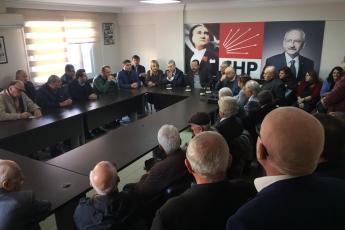 CHP Yenişehir İlçe Örgütümüzü Ziyaretimiz