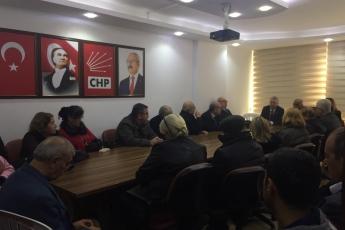 CHP Mezitli İlçe Örgütümüzü Ziyaretimiz