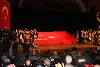 Mersin Kültür Merkezindeki  3 Ocak Mersinin Kurtuluşu Kutlamalarına Katılımımız.-04