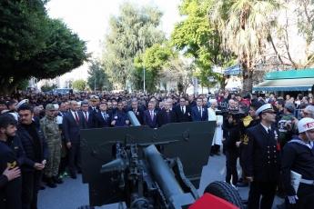 Barış Pınarı Harekat Bölgesinde Patlayıcı Yüklü Araç İle Yapılan Saldırı Sonucu Şehit Düşen Mehmetçiklerimizin Cenaze Törenine Katılımımız.-04