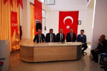 Mersin Milletvekillerimiz Cengiz Gökçel ve Ali Mahir Başarır İle Birlikte CHP Anamur İlçe Örgütümüzü Ziyaretimiz.-02