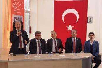 Mersin Milletvekillerimiz Cengiz Gökçel ve Ali Mahir Başarır İle Birlikte CHP Anamur İlçe Örgütümüzü Ziyaretimiz.-03