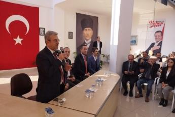 Mersin Milletvekillerimiz Cengiz Gökçel ve Ali Mahir Başarır İle Birlikte CHP Anamur İlçe Örgütümüzü Ziyaretimiz.-04