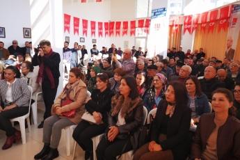 Mersin Milletvekillerimiz Cengiz Gökçel ve Ali Mahir Başarır İle Birlikte CHP Anamur İlçe Örgütümüzü Ziyaretimiz.-05