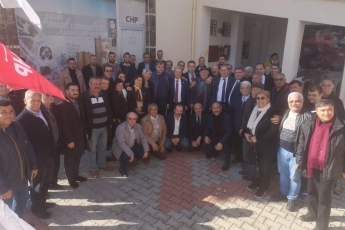 Mersin Milletvekillerimiz Cengiz Gökçel ve Ali Mahir Başarır İle Birlikte CHP Anamur İlçe Örgütümüzü Ziyaretimiz.-06