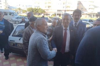 Mersin Milletvekillerimiz Cengiz Gökçel ve Ali Mahir Başarır İle Birlikte CHP Bozyazı İlçe Örgütümüzü Ziyaretimiz.-01