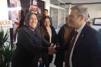 Mersin Milletvekillerimiz Cengiz Gökçel ve Ali Mahir Başarır İle Birlikte CHP Bozyazı İlçe Örgütümüzü Ziyaretimiz.-02