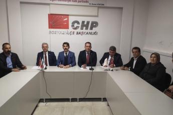 Mersin Milletvekillerimiz Cengiz Gökçel ve Ali Mahir Başarır İle Birlikte CHP Bozyazı İlçe Örgütümüzü Ziyaretimiz.-03