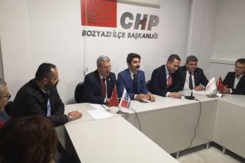 Mersin Milletvekillerimiz Cengiz Gökçel ve Ali Mahir Başarır İle Birlikte CHP Bozyazı İlçe Örgütümüzü Ziyaretimiz.-04