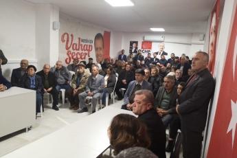 Mersin Milletvekillerimiz Cengiz Gökçel ve Ali Mahir Başarır İle Birlikte CHP Bozyazı İlçe Örgütümüzü Ziyaretimiz.-05