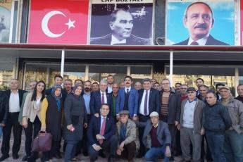 Mersin Milletvekillerimiz Cengiz Gökçel ve Ali Mahir Başarır İle Birlikte CHP Bozyazı İlçe Örgütümüzü Ziyaretimiz.-06