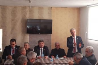 Mersin Milletvekillerimiz Cengiz Gökçel ve Ali Mahir Başarır İle Birlikte CHP Aydıncık İlçe Örgütümüzü Ziyaretimiz.-03