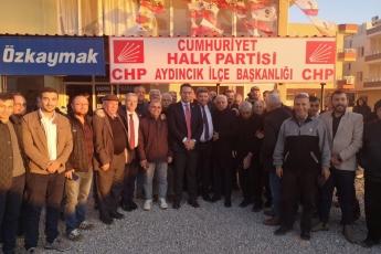 Mersin Milletvekillerimiz Cengiz Gökçel ve Ali Mahir Başarır İle Birlikte CHP Aydıncık İlçe Örgütümüzü Ziyaretimiz.-04