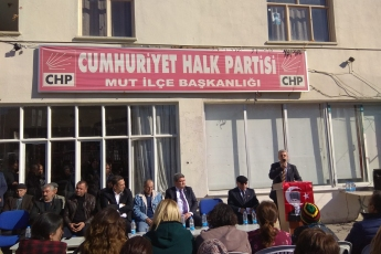 Mersin Milletvekillerimiz Cengiz Gökçel ve Ali Mahir Başarır İle Birlikte CHP Mut İlçe Örgütümüzü Ziyaretimiz.-01