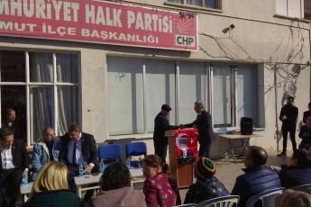 Mersin Milletvekillerimiz Cengiz Gökçel ve Ali Mahir Başarır İle Birlikte CHP Mut İlçe Örgütümüzü Ziyaretimiz.-03