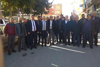 Mersin Milletvekillerimiz Cengiz Gökçel ve Ali Mahir Başarır İle Birlikte CHP Gülnar İlçe Örgütümüzü Ziyaretimiz.