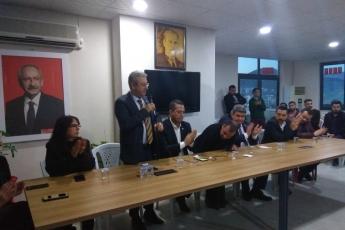 Mersin Milletvekillerimiz Cengiz Gökçel ve Ali Mahir Başarır İle Birlikte CHP Silifke İlçe Örgütümüzü Ziyaretimiz.