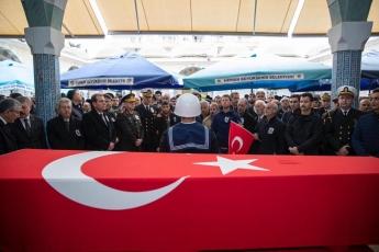 Muğdat Camiinde Şehidimiz P.Söz.Er. Tolga KAPLAN'ın Cenaze Törenine Katılımımız.-01