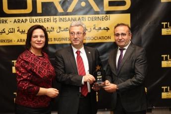 TURAB Türk Arap Ülkeleri İş İnsanları Derneği Kuruluşunun 16. Yıldönümüne Katılımımız.-01