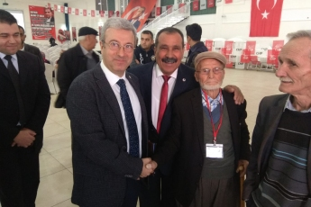 CHP Erdemli İlçe Başkanlığı Kongresine Katılımımız.-05