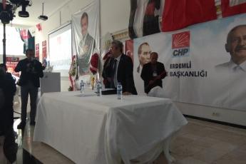 CHP Erdemli İlçe Başkanlığı Kongresine Katılımımız.-06