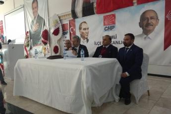 CHP Erdemli İlçe Başkanlığı Kongresine Katılımımız.-07