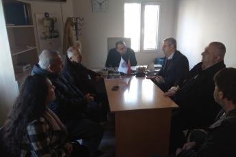 Karaduvar Mahallesi Muhtarı Fikret Altan'ı Ziyaretimiz.-03