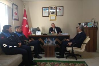 Cumhuriyet Mahallesi Muhtarı İbrahim Koca'yı Ziyaretimiz.-02