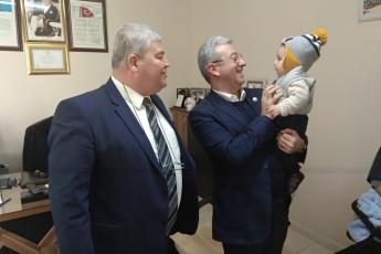 Cumhuriyet Mahallesi Muhtarı İbrahim Koca'yı Ziyaretimiz.-03