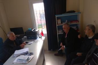 Hürriyet Mahallesi Muhtarı Orhan Deli'yi Ziyaretimiz.-02