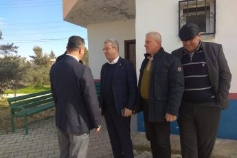 Hürriyet Mahallesi Muhtarı Orhan Deli'yi Ziyaretimiz.-03