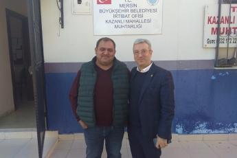 Kazanlı Mahallesi Muhtarı Süleyman Serin'i Ziyaretimiz.-01