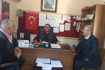Kazanlı Mahallesi Muhtarı Süleyman Serin'i Ziyaretimiz.-02