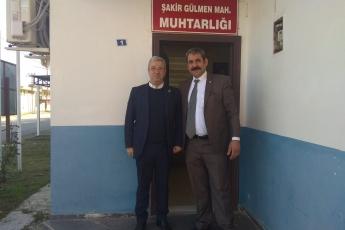 Şakir Gülmen Mahallesi Muhtarı Ali Özay'ı Ziyaretimiz.-01
