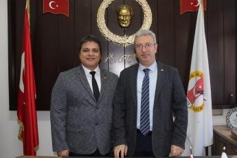 Gazeteciler Cemiyeti Başkanı Sayın Rüstem Kaya Tepe'yi ve Cemiyet Üyelerini Ziyaretimiz.-01