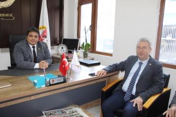 Gazeteciler Cemiyeti Başkanı Sayın Rüstem Kaya Tepe'yi ve Cemiyet Üyelerini Ziyaretimiz.-02